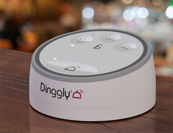 Call For Service Button Dinggly Table Button Service